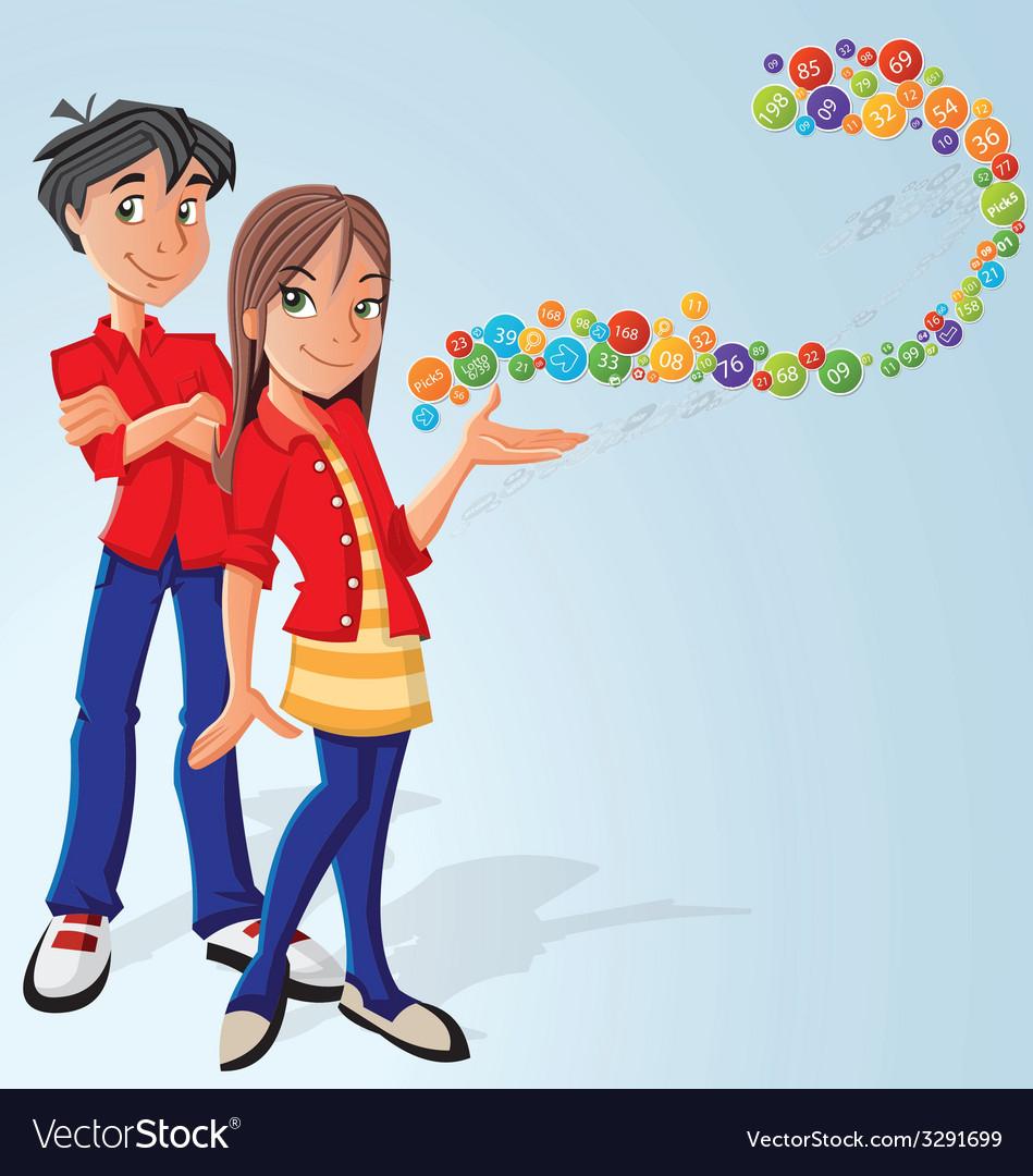 Cartoons vector image
