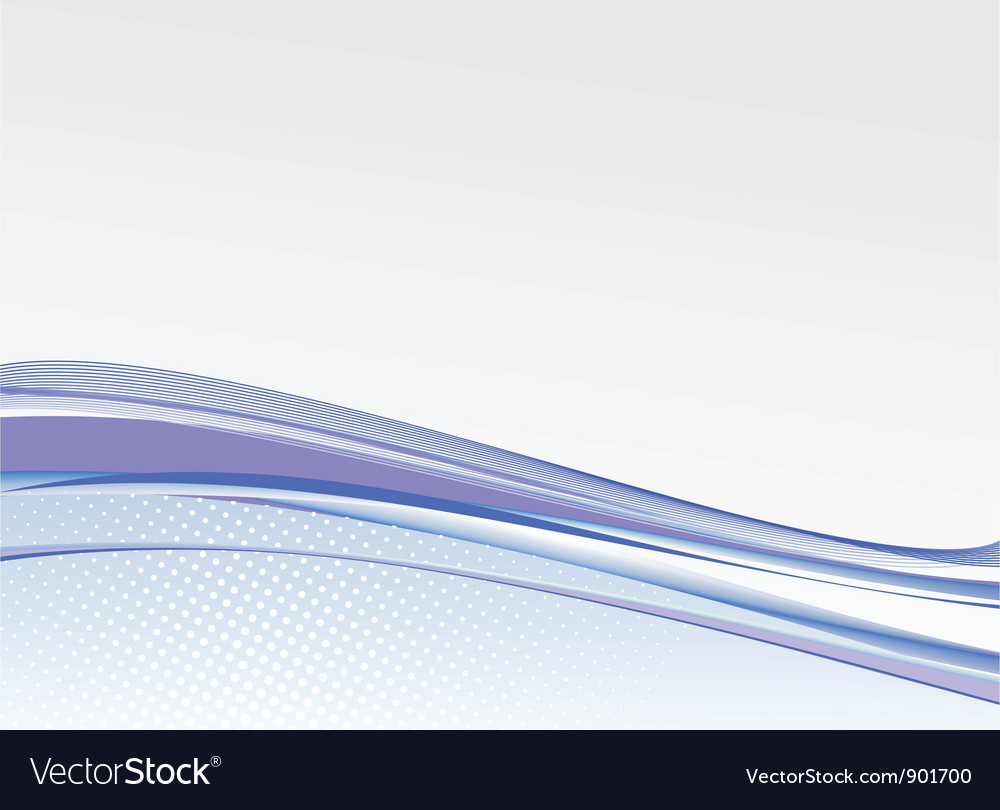 Abstract blank card background vector image