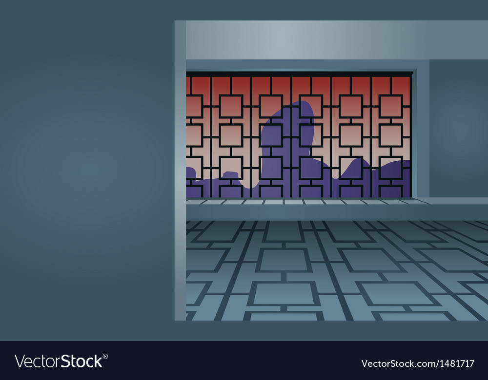 Interrior Background vector image