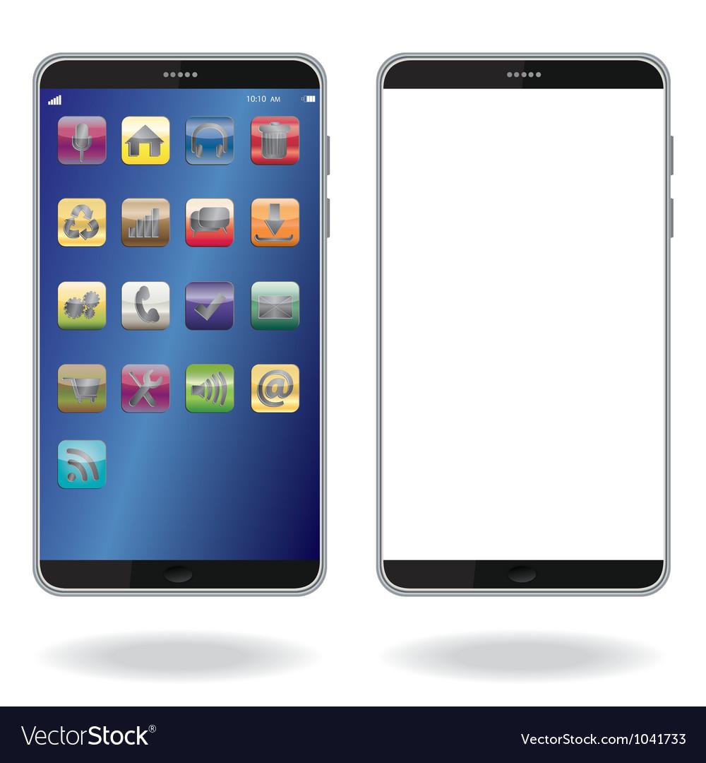 Smart phone vector image
