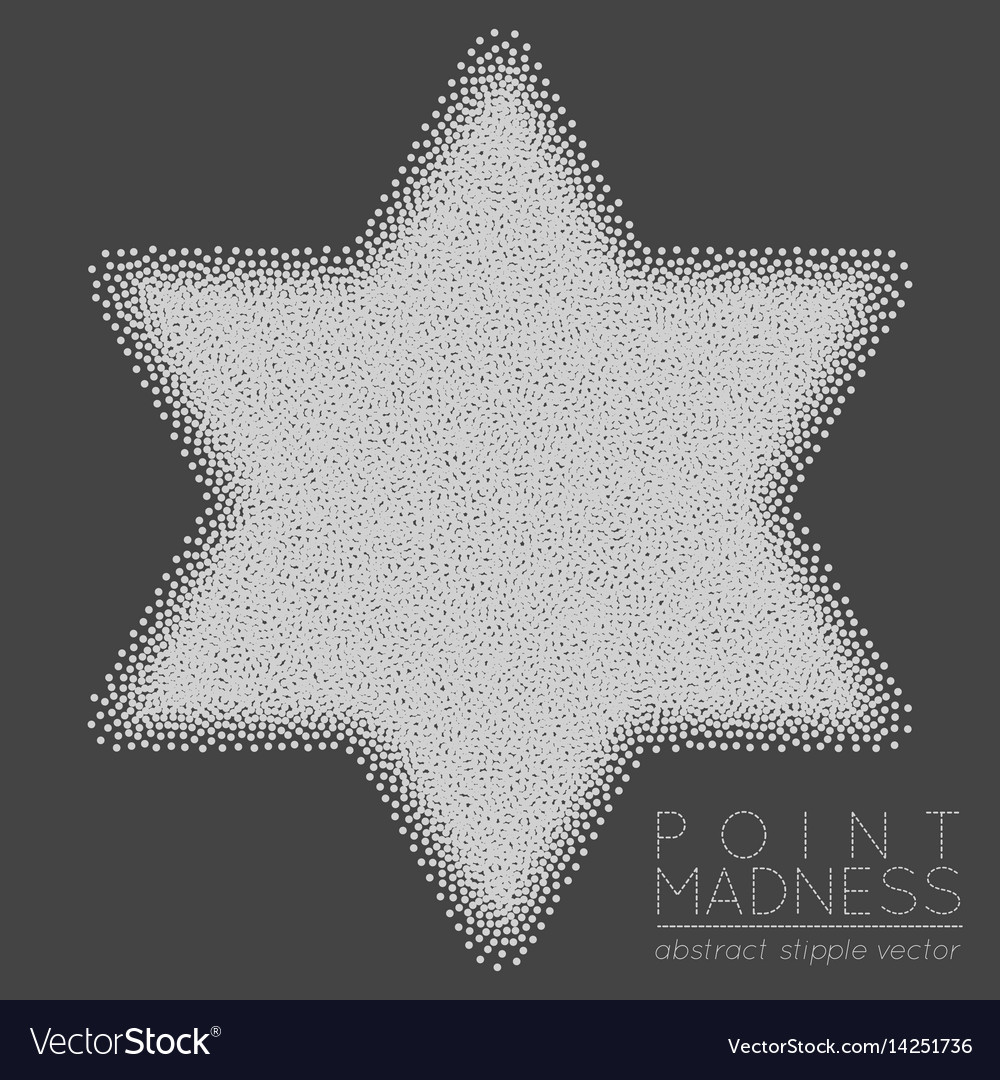 Of abstract dotted symbol star of royalty free vector image of abstract dotted symbol star of vector image buycottarizona