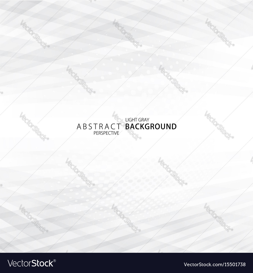 Light gray perspective background vector image