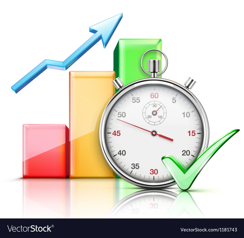 Timing concept Vector Image