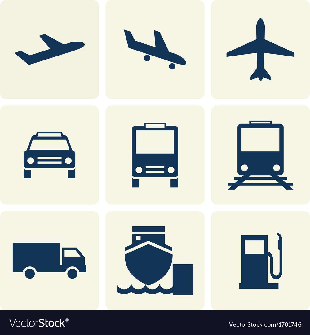 Tranport Icon vector image