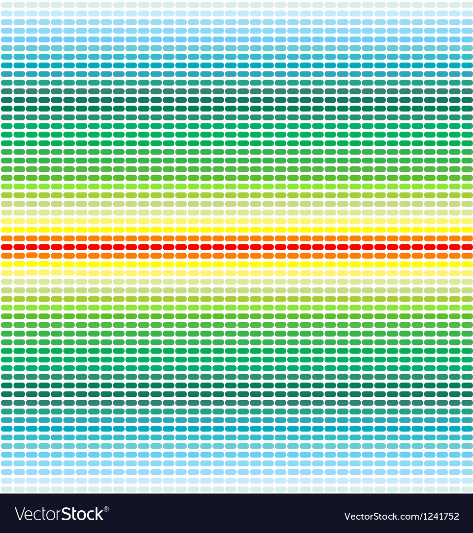 Crochet colorful seamless vector image