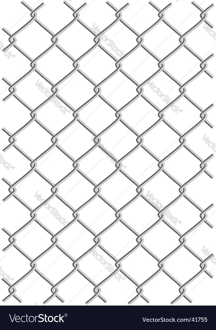 Metal wire net background vector image