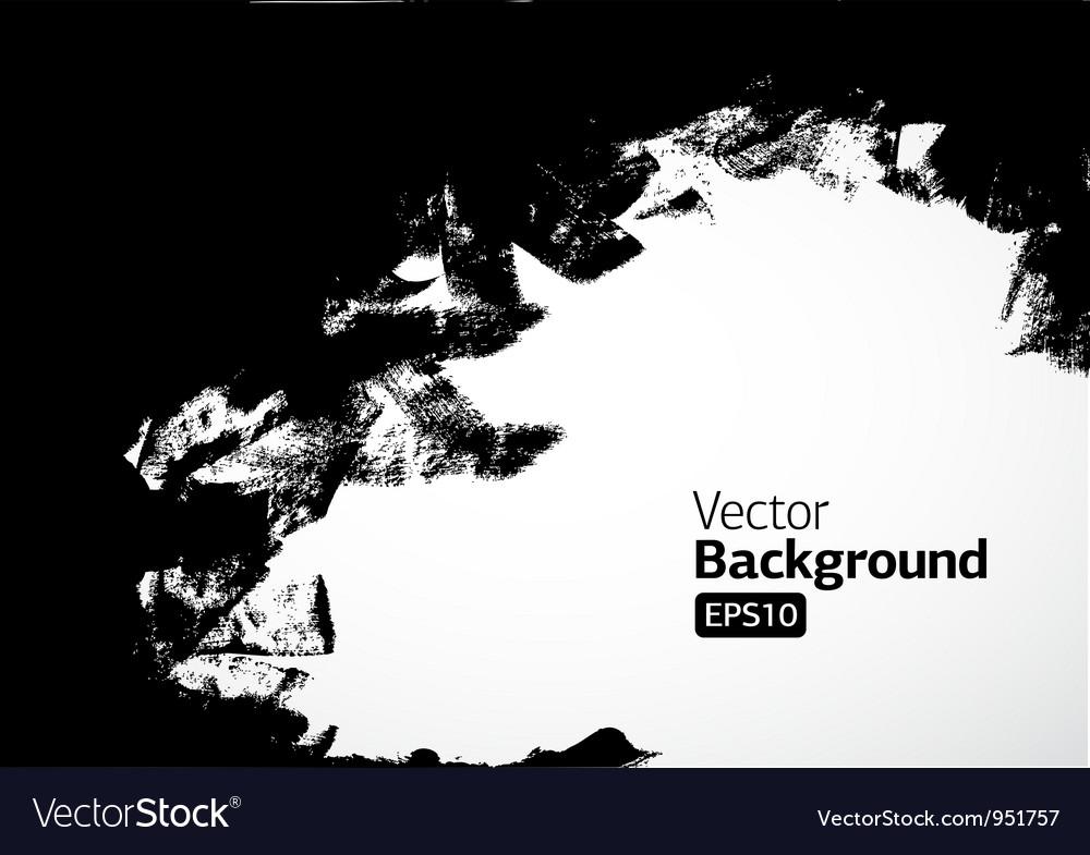 Ink frame vector image