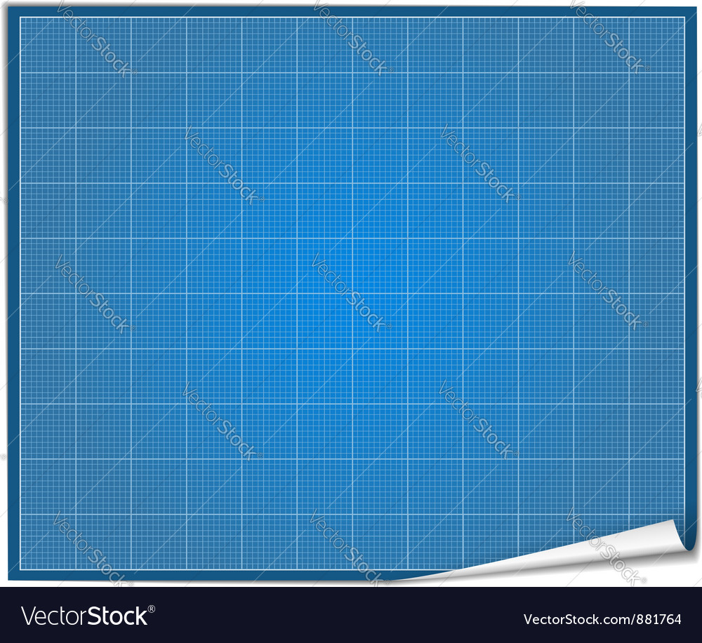 Blueprint paper royalty free vector image vectorstock blueprint paper vector image malvernweather Gallery