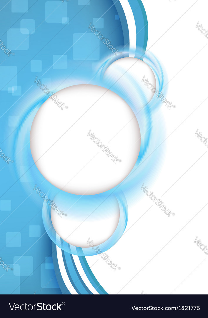 Transparent clear background for advertising vector image