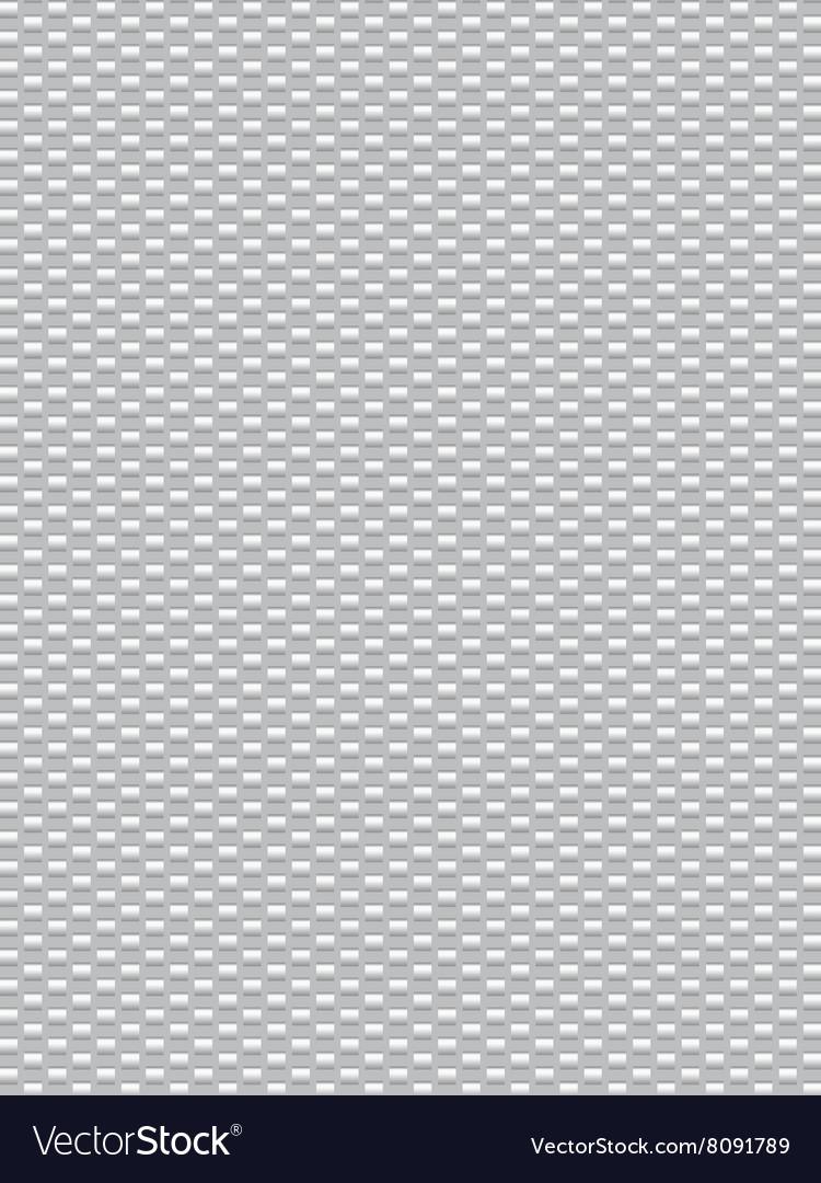 White texture synthetic fiber geometric seamless b vector image