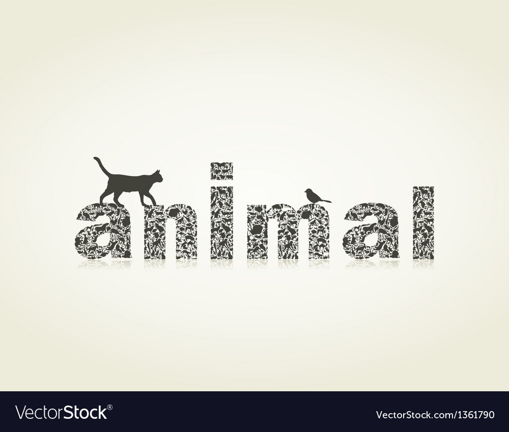 Animal4 vector image