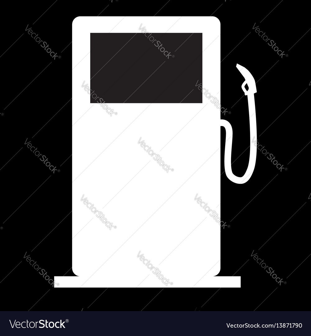 Gas station icon gas station sign vector image