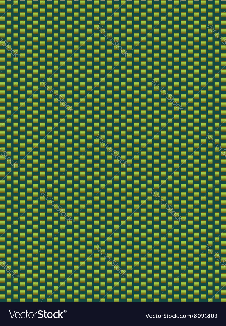 Green texture synthetic fiber geometric seamless b vector image