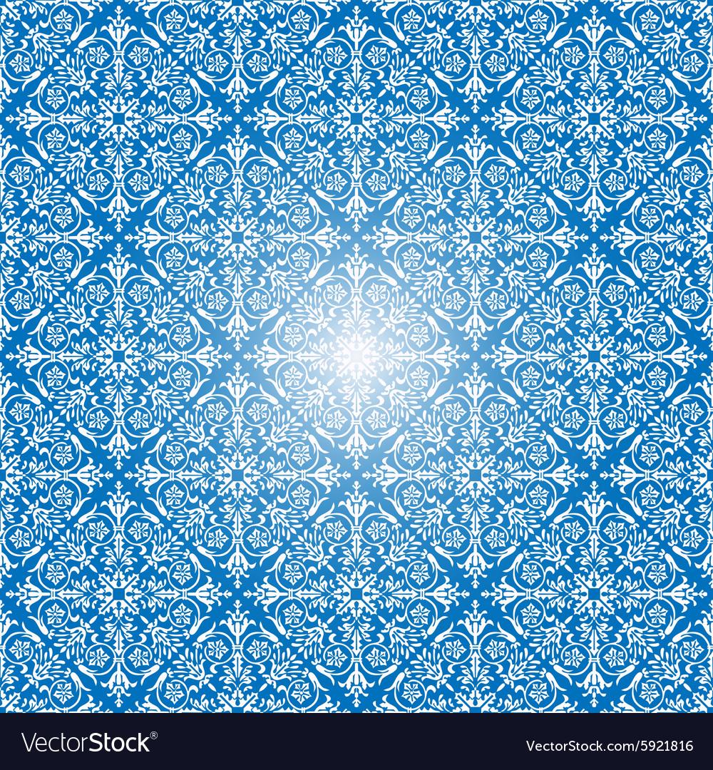 Seamless background for retro design vector image