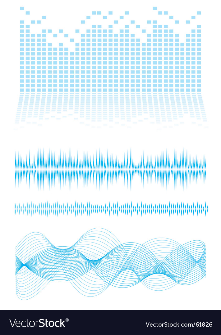 Equalizer type vector image