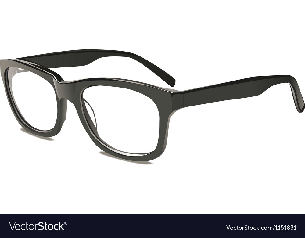 Eye glasses vector image