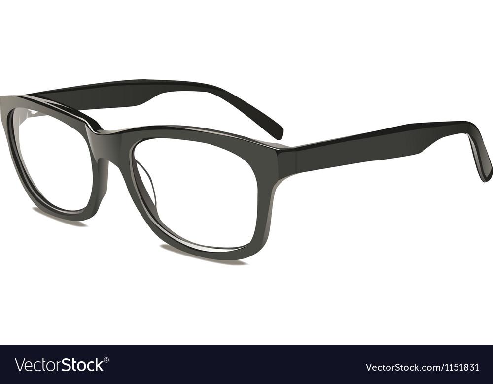 Eye glasses vector image