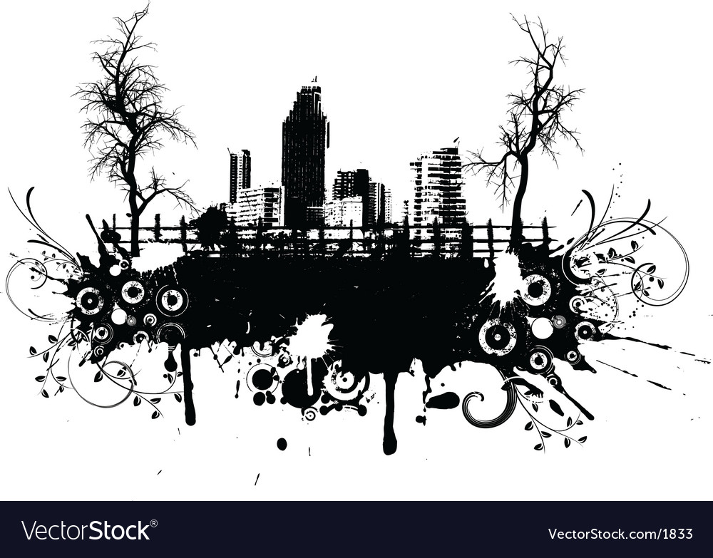 Rural grunge vector image