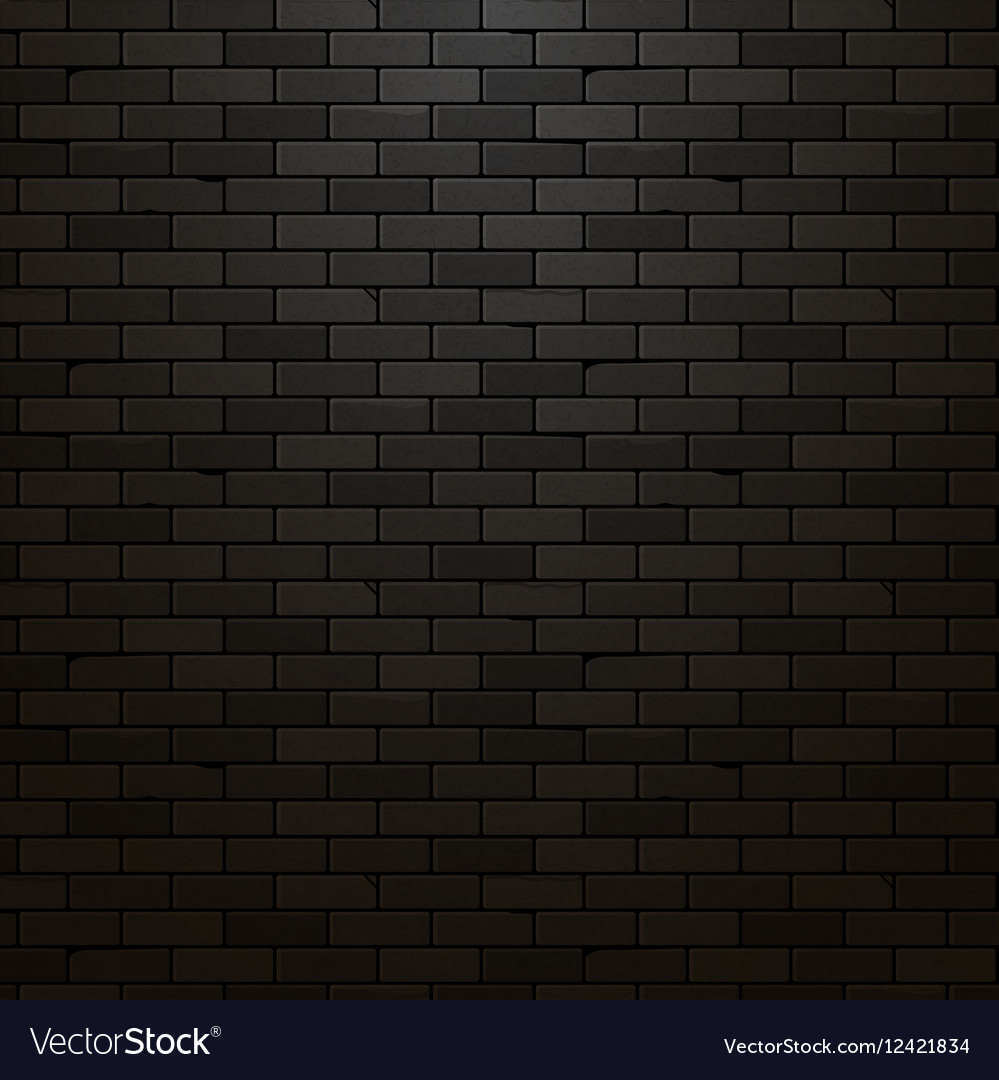 Marvelous Black Brick Part - 7: VectorStock