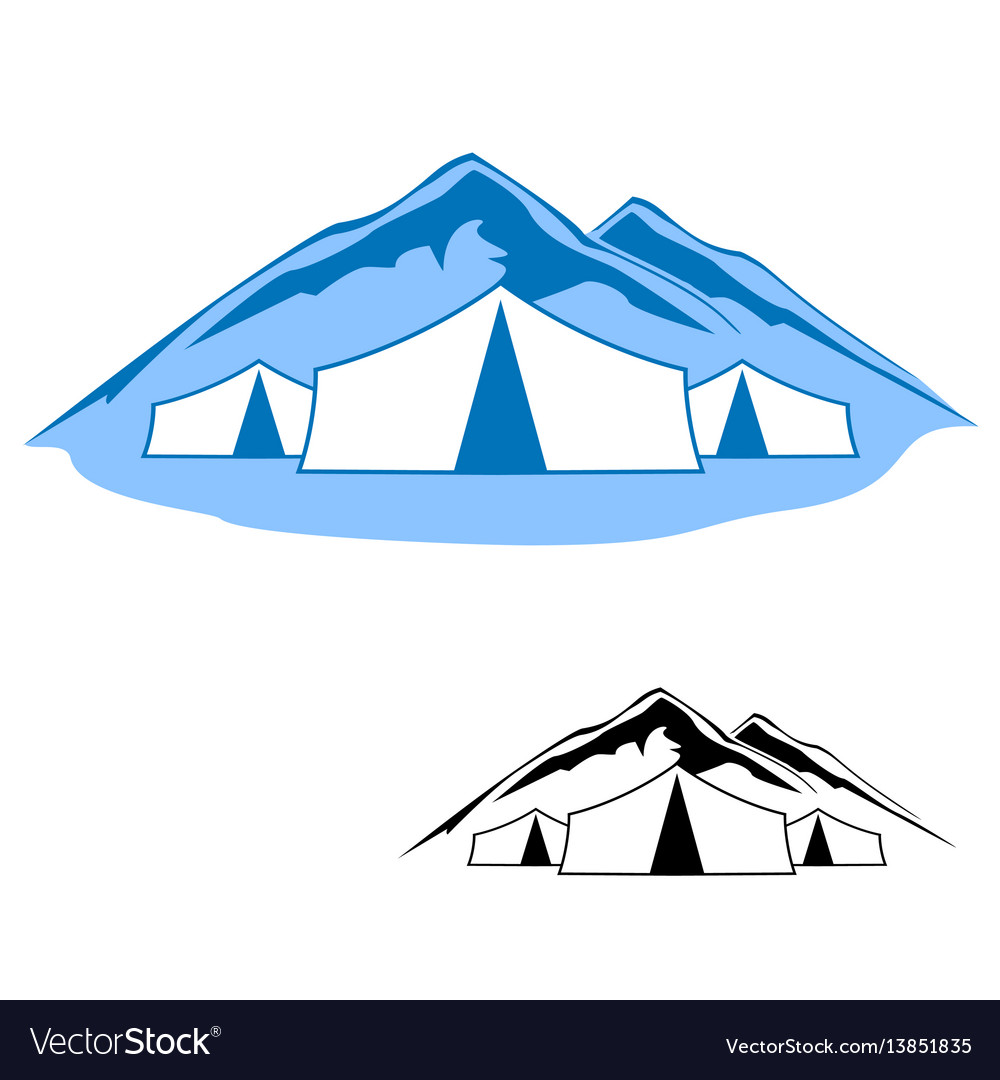 Logos of active res vector image