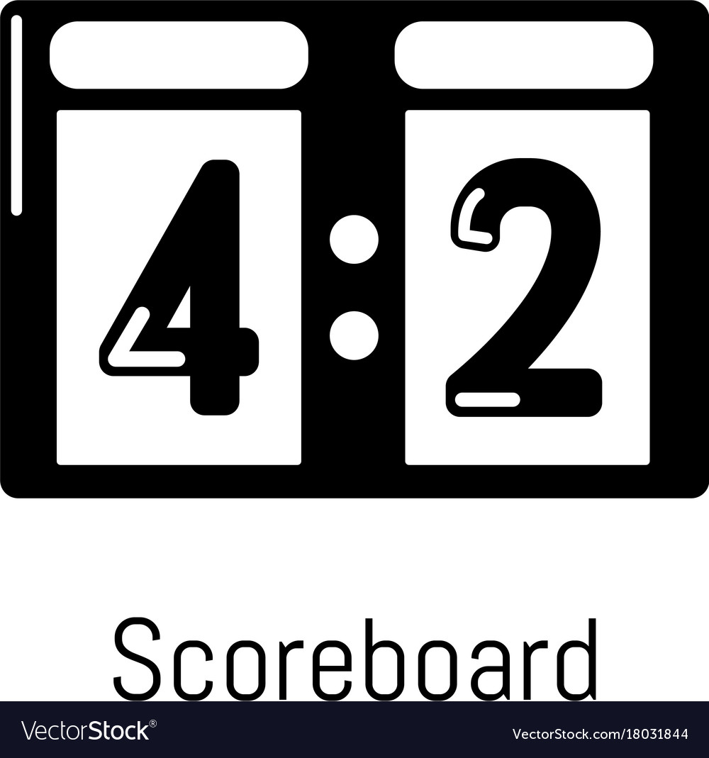 Scoreboard - Free sports and competition icons