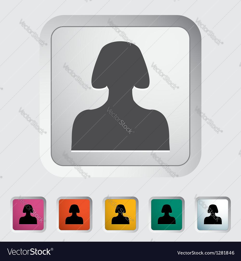 Person 2 vector image
