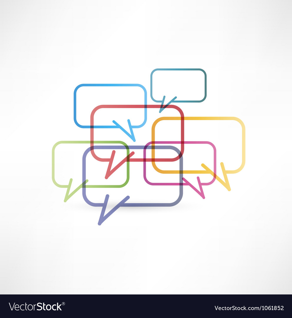 Chat box icon design vector image