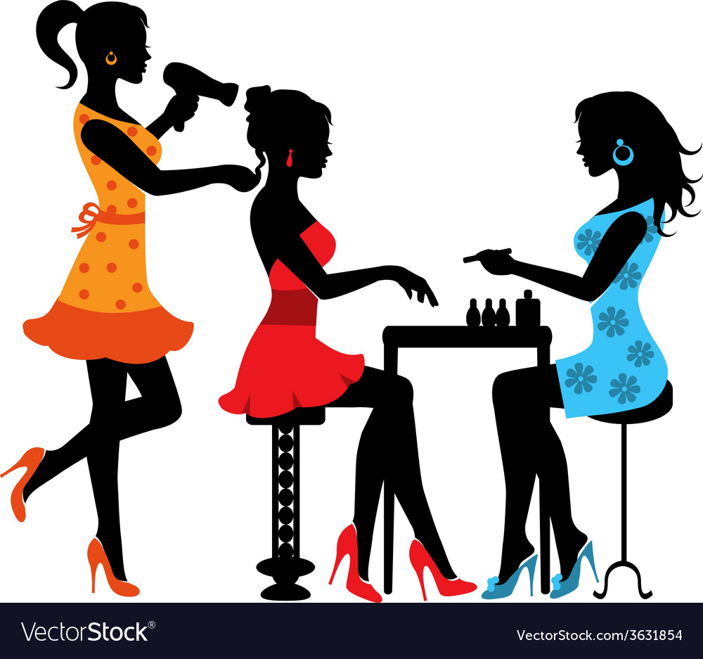 woman in a beauty salon royalty free vector image rh vectorstock com vector manufacturing vector manipulation