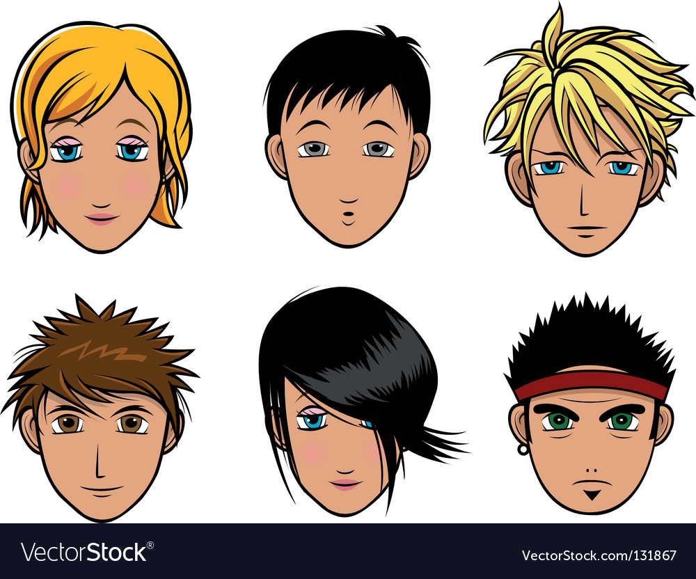 Girl boy Vector Image