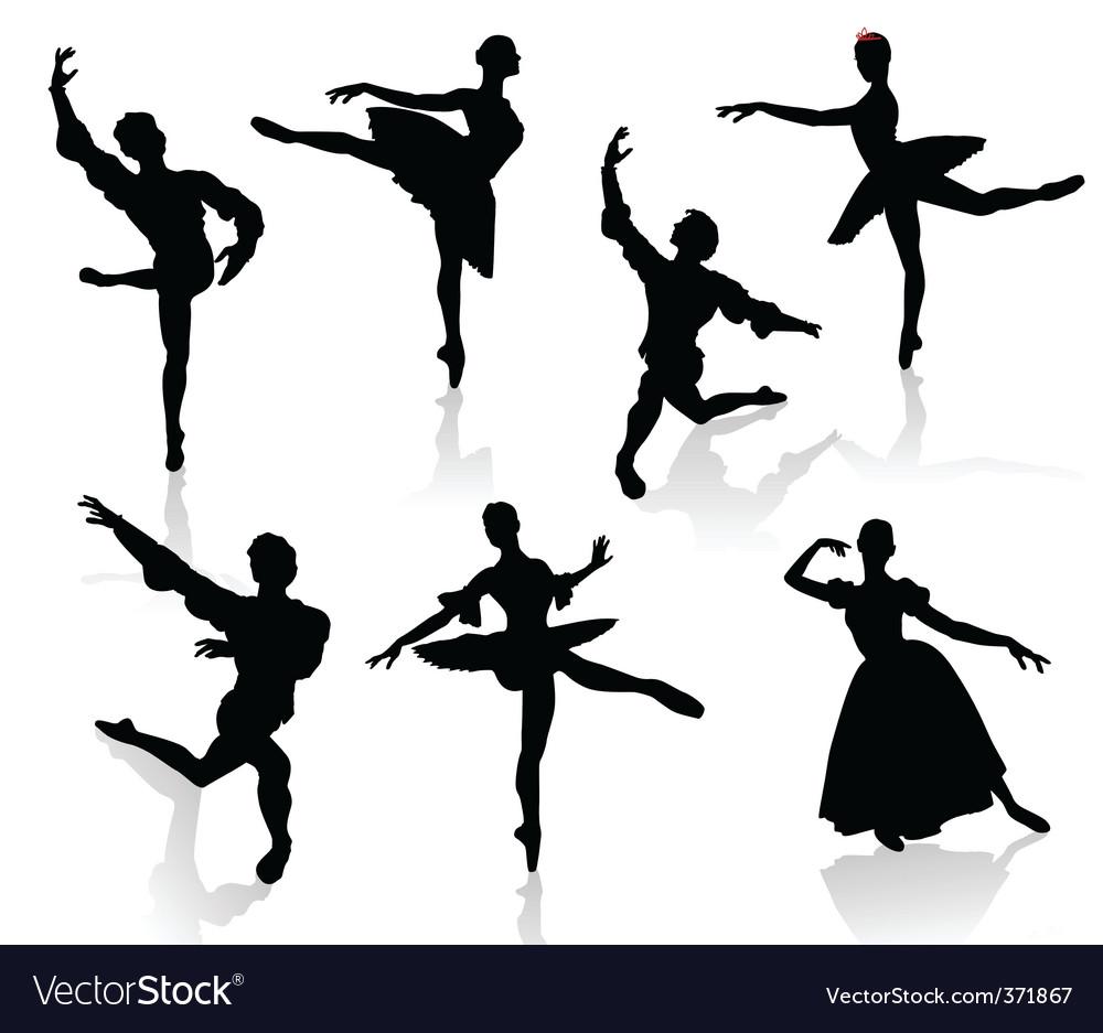Ballet 3 Vector Image