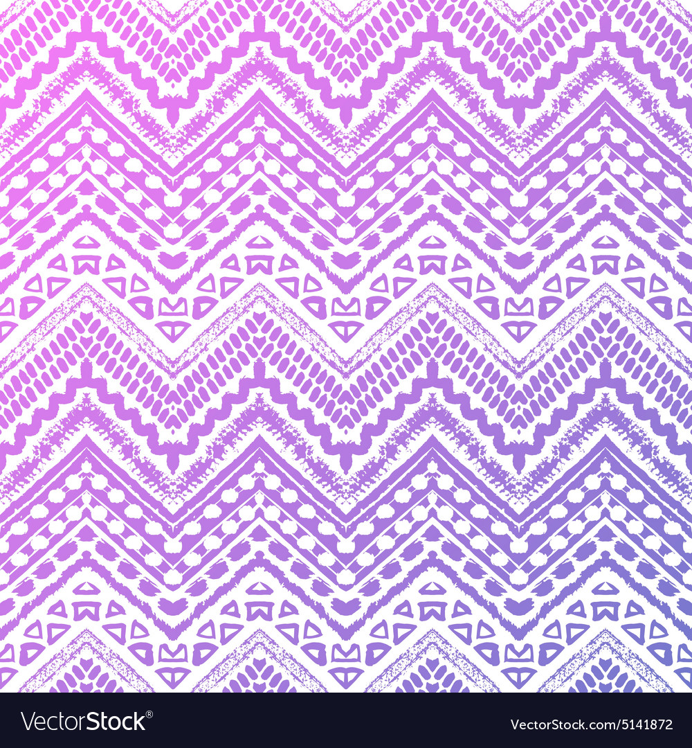 Hand drawn painted seamless pattern vector image