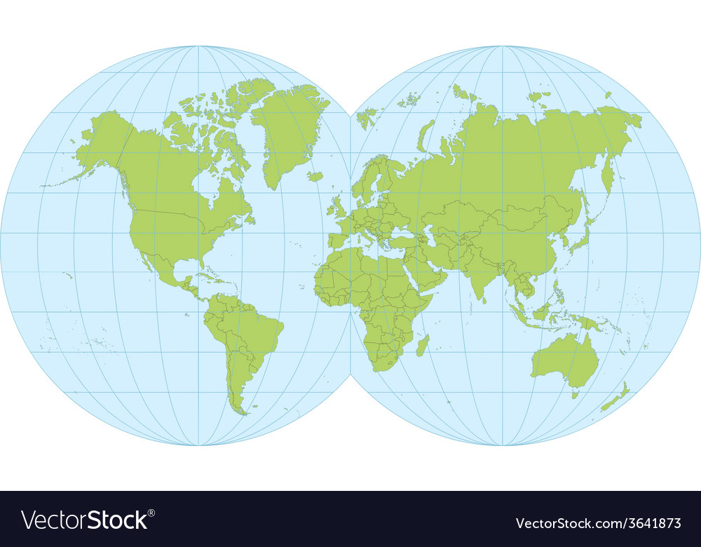 World map royalty free vector image vectorstock world map vector image gumiabroncs Gallery