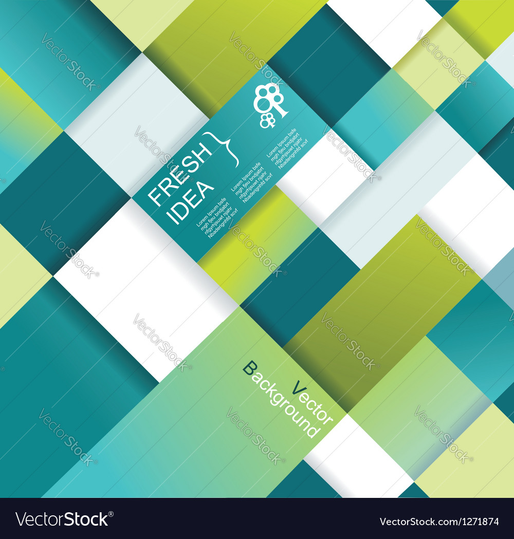 Abstract distortion background vector image