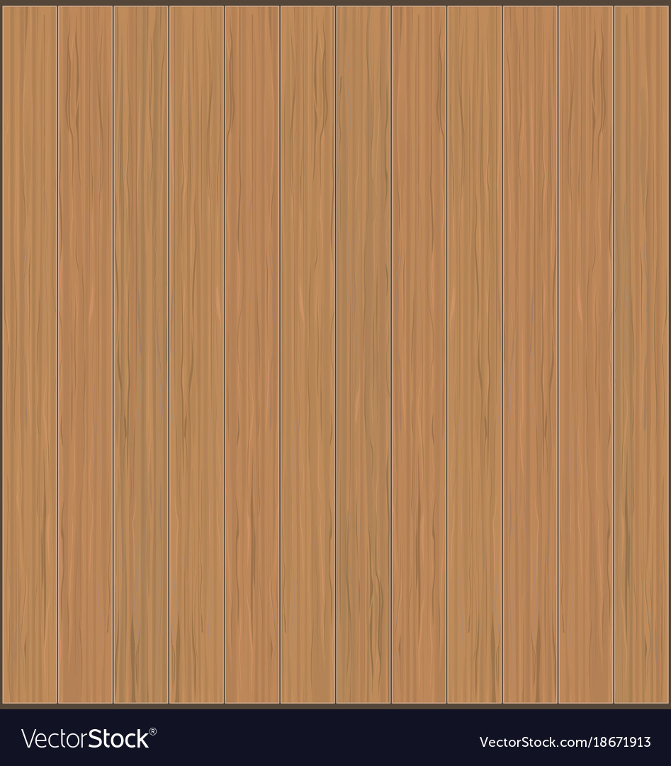 Wood planks flat texture realistic brown wooden vector image