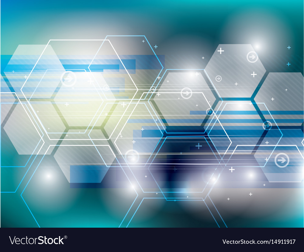 Abstract background technology vector image