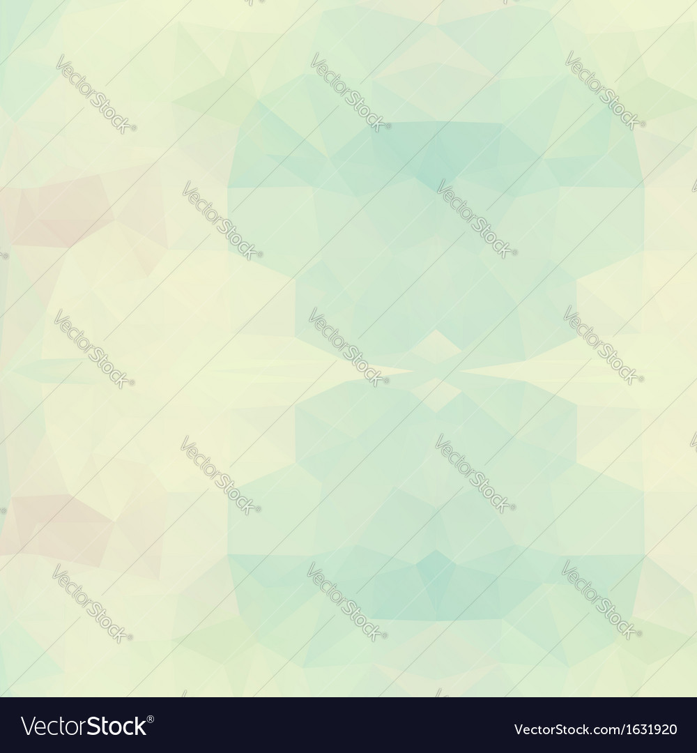 Abstract triangle geometric background vector image
