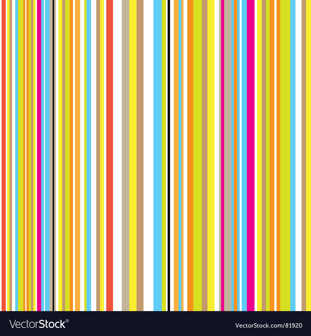Candy stripe retro vector image