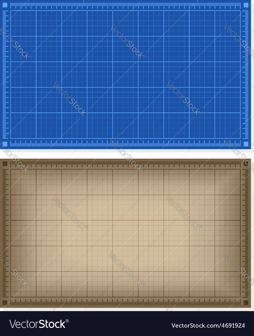 Set of blueprint backgrounds royalty free vector image set of blueprint backgrounds vector image malvernweather Choice Image