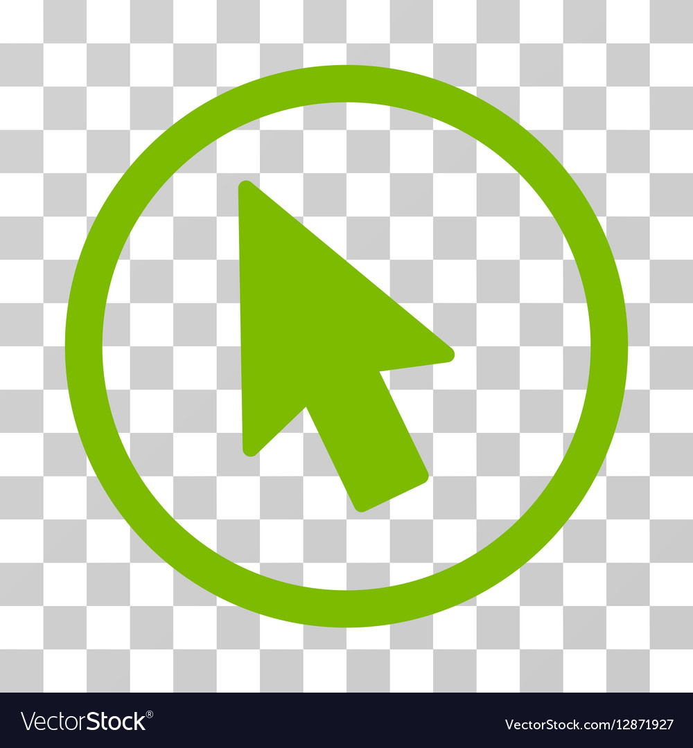 Mouse Pointer Rounded Icon vector image