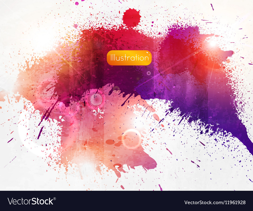 Rustic Colorful Abstract Background vector image