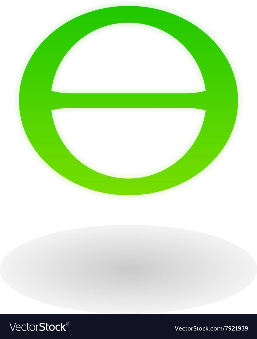 Earth day symbol theta royalty free vector image earth day symbol theta vector image buycottarizona