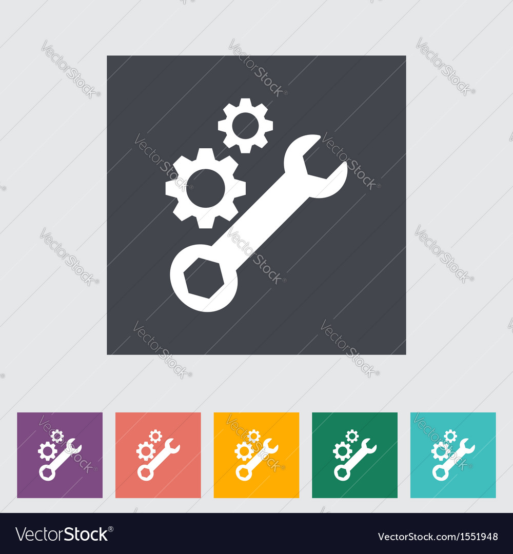 Setting vector image