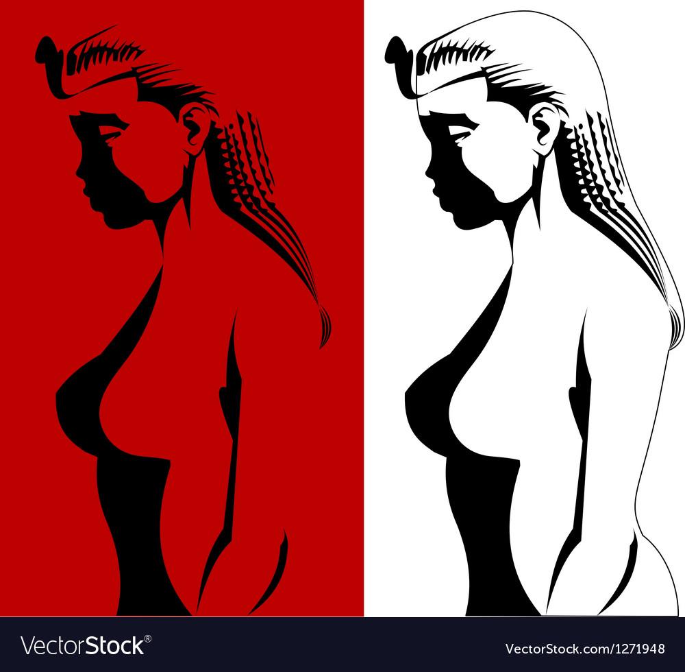 Cleo vector image