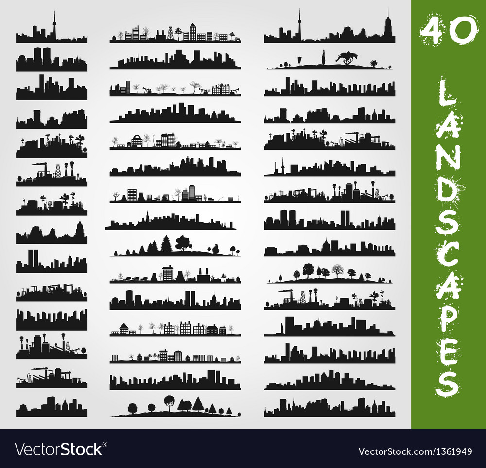 City landscape7 vector image