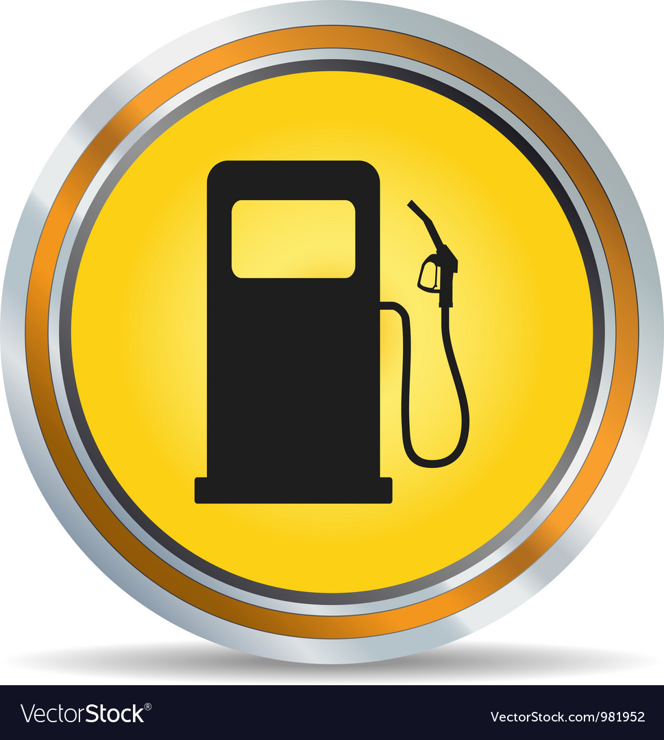 Fuel icon vector image