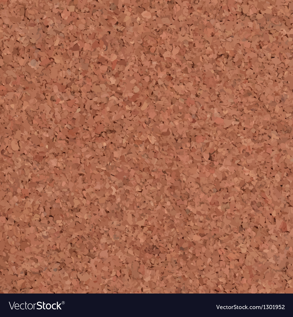 Cork Texture Background vector image