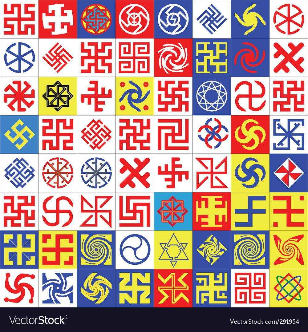Runes occult symbols royalty free vector image runes occult symbols vector image biocorpaavc
