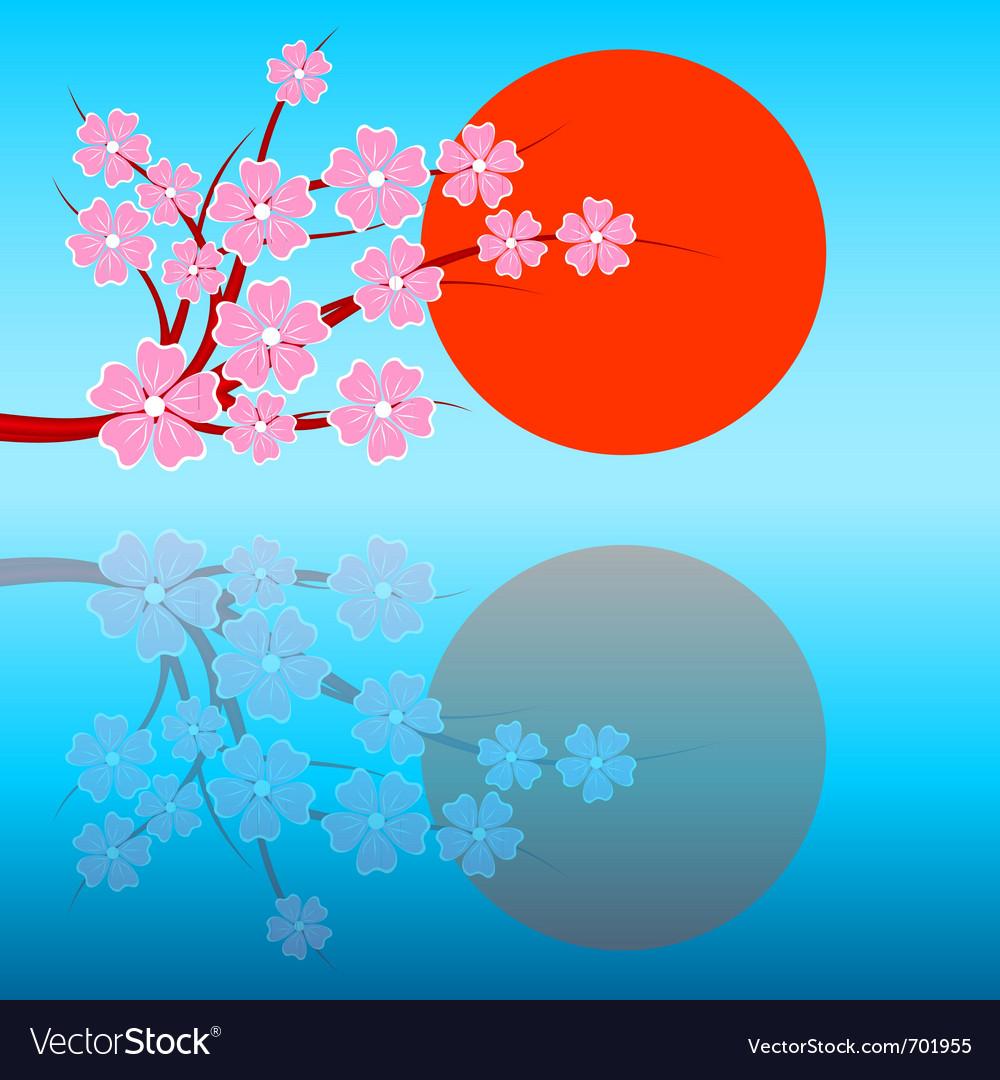 Sakuraday vector image