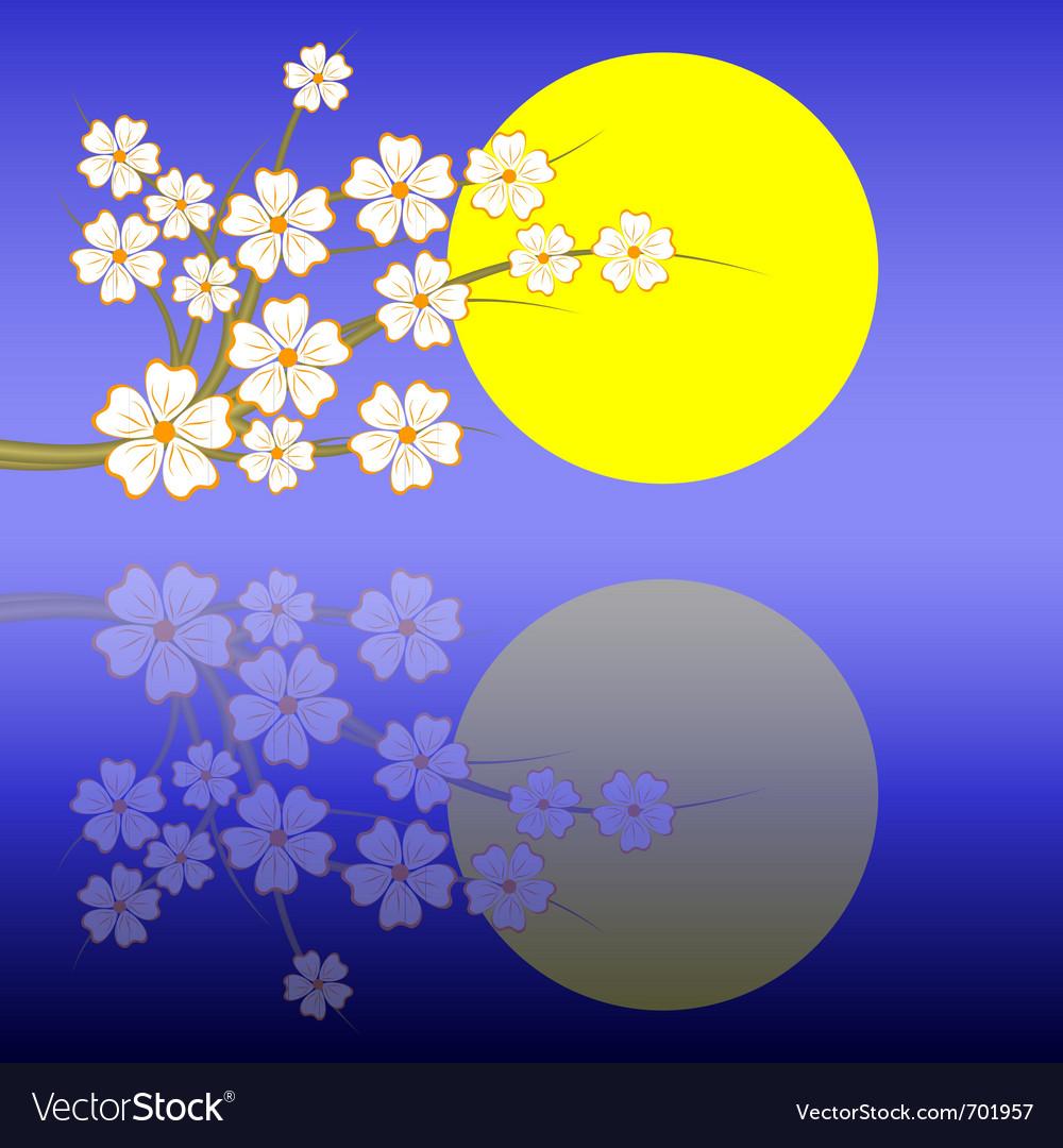 Sakuranight vector image