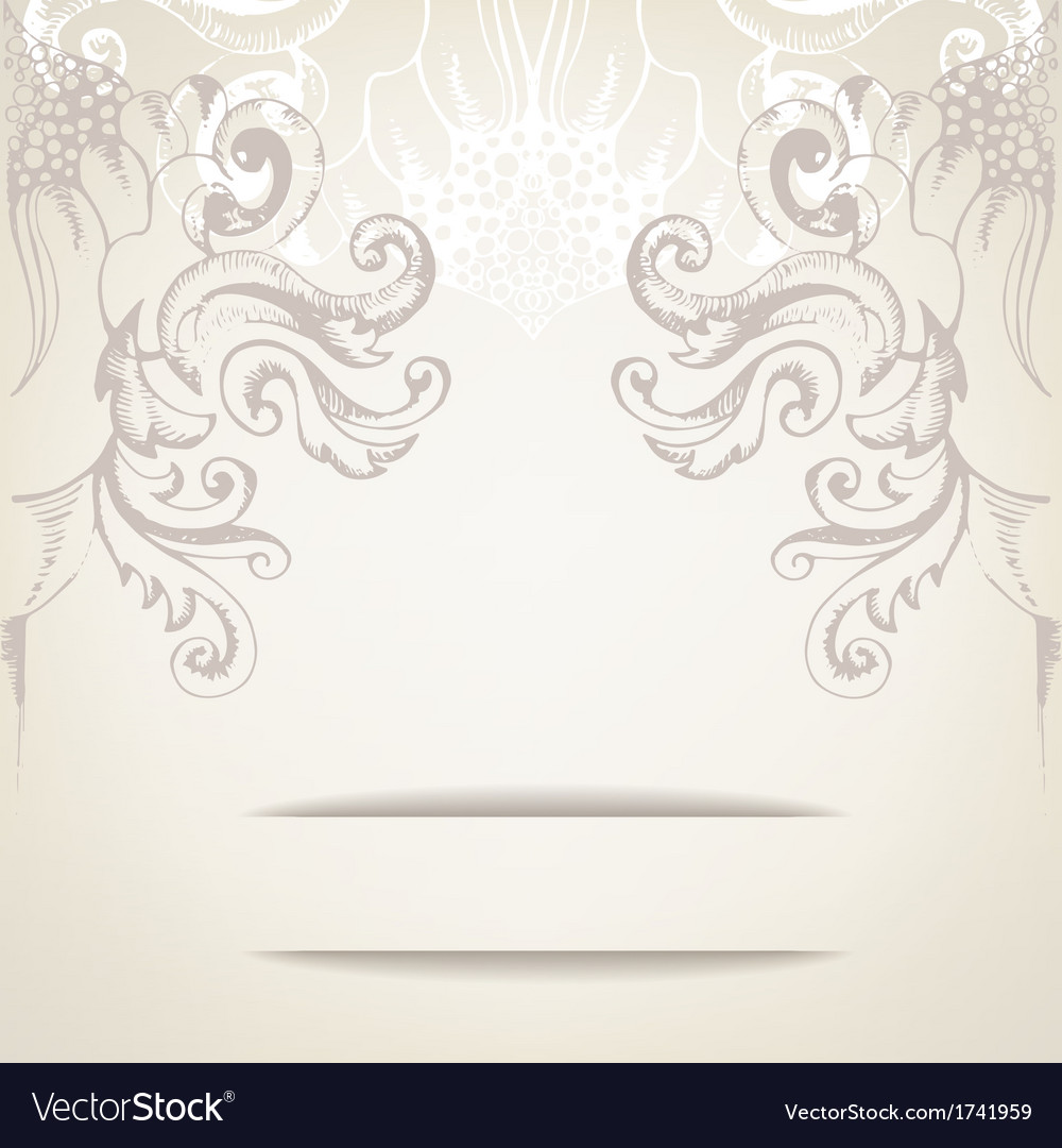 Vintage elegant background for invitations vector image vintage elegant background for invitations vector image stopboris